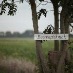 Bordje Picknick Boerderij Hoefwoning